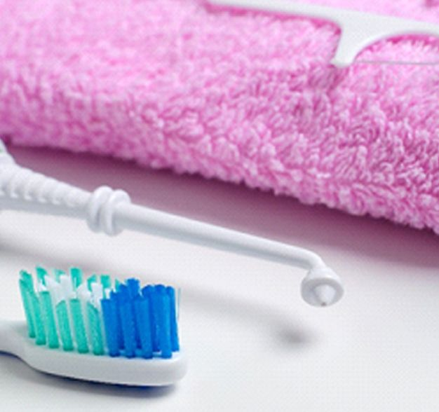 Oral hygiene products to promote dental health.